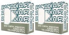 400 coins photos blancs transparents boites distributeurs 2 X 200 pièces
