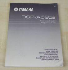 Yamaha DSP-A595a Bedienungsanleitung (mehrsprachig, auch in Deutsch)