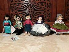 New Listing5 Madame Alexander Dolls Japan Switzerland Denmark Netherlands and China w/Box