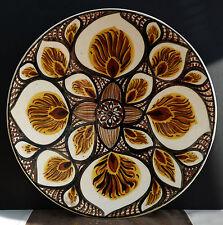 Grosser Künstler Keramik Wandteller aus der Werkstatt Schmidt Pulsnitz !!!