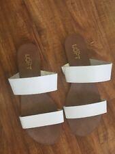 Ann Taylor LOFT white Sandals NWT 8M