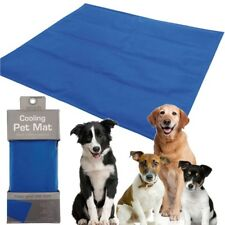 Pet Cooling Mat Self Cool Cooling Gel Mat Pet Dog Cat Heat Relief non-Toxic Blue