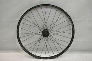 "Bontrager Ranger 26"" Rear MTB Wheel Deore Hub Black OLW135 17mm 32S PV Charity!!"