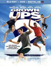 Grown Ups 2 (Blu-ray/DVD, 2013, 2-Disc Set, Includes Digital Copy UltraViolet)