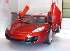 G LGB 1:24 Scale Red McLaren MP4-12c Detailed New Ray Diecast Model Car 71263