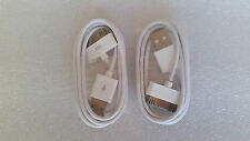 2x Charging/Data cable for Iphone 4, 4s, 3 etc BRAND NEW POST FROM MELBOURNE