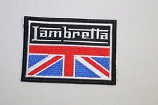 Lambretta Union Flag Mods Scooters Patch