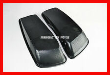 2014-UP HARLEY TOURING  6x9 SADDLEBAG SPEAKER LIDS ABS UNPAINTED