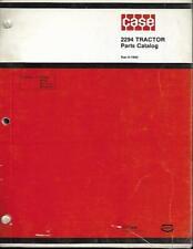 Case 2294 Tractor Parts Catalog