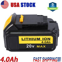 DCB204 20V Volt Max XR 4.0AH Lithium Ion Battery For DeWalt DCB200 DCB205 DCB206