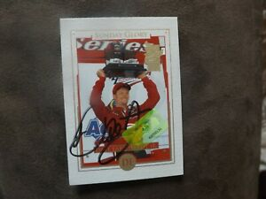 2003 Press Pass VIP Sunday Glory Dale Earnhardt, Jr. Autographed Card