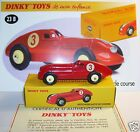 DINKY TOYS ATLAS HOTCHKISS AUTO DE COURSE ROUGE REF 23B 1/43 IN BOX