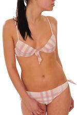 Burberry bikini set Femme S Se leva  À carreaux