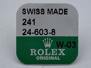 Genuine Rolex Crown 24-603-8 18K Sealed GMT DAY DATE DATEJUST
