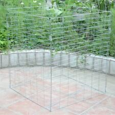 Metal Wire Mesh Compost Bin Garden Composter Converter Eco Recycling Storage Bin