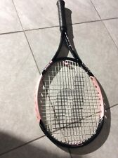 "Excellent! PRINCE O3 Pink Hybrid 4 1/8 Oversize 110"" Tennis Racquet 27"" adult"