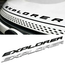 NEW 2011-2016  Explorer Ford Sport Chrome Hood Emblem Letters Decal