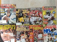 Huge Football lot Sports Illustrated, Sporting News Tuff Stuff ESPN Magazines