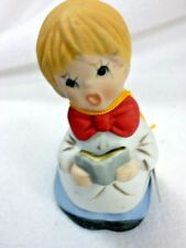 Vtg With Tag Merri-Bells Jasco Choir Boy With Hidden Slingshot Bell
