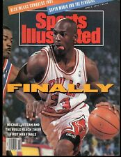 Sports Illustrated 1991 Chicago Bulls Michael Jordan June 3, 1991 NR/Mint