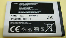 NON OEM for AB463446BA Battery for Samsung sgh t249 Contour sch r250 t255g t259
