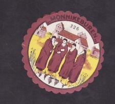 Ancienne petite étiquette Fromage  Hollande BN40874 Moine