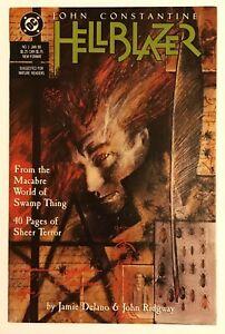 Hellblazer #1, HIGH GRADE!, Constantine! 1988