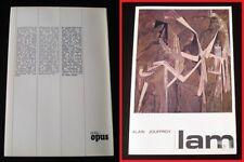 Wifredo LAM par Alain Jouffroy   /   Bibli Opus 1972