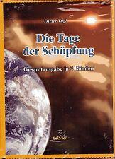 DIE TAGE DER SCHÖPFUNG - Dieter Vogl - 3 x BUCH-SET ( wie Erich von Däniken )