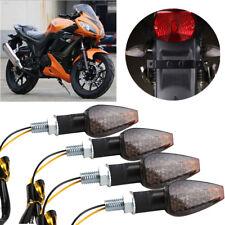 4pcs LED Motorrad Blinkleuchte 12V 12LED MiniBlinker Signallicht Rollert Licht