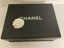 Chanel Magnetic Iconic Bag Gift Box Tissue Paperwork Boutique Camellia *12