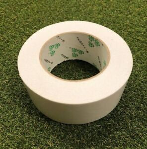 """NEW Quality Club Builder's Golf Double Sided Grip Tape Roll - 2"""" x 50yd"""