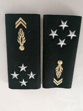 ÉPAULETTES OBSOLÈTES GÉNÉRAL GENDARMERIE COLLECTION FRENCH SHOULDER BOARDS