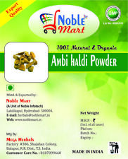 Wild Turmeric Powder Kasthuri Manjal, for Glowing Skin - 100% Natural, Free Ship