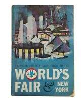 1964 1965 American Airlines New York World's Fair GUIDE BOOK Hilton Hotel