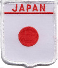 Japan Embroidered Patch