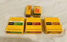 Lot Of Vintage Expired Kodak Film. 7278 7277 7276 Tri-X Pan Gold 100 GA 120