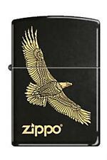 Zippo 7793 eagle flying black Lighter