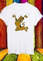 Scooby-Doo Shaggy Fred Velma and Daphne Cartoon Men Women Unisex T-shirt 843