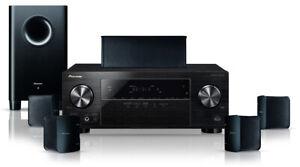 Pioneer HTP-206-K schwarz 5.1 Heimkino Lautsprecher System NEUWARE AV-Upgrade