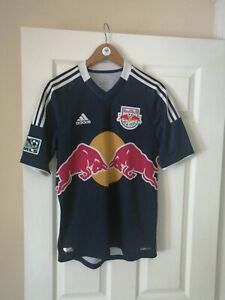 NEW YORK RED BULLS FC OFFICIAL ADIDAS MLS 2012/14 AWAY SHIRT Sm RARE