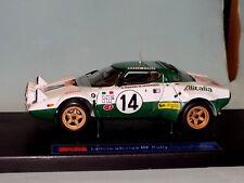 Lancia Stratos HF ALITALIA #14 Munari 1ST MONTE CARLO 1975 SUN STAR 4501 1:18