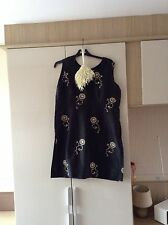 Ladies Size 20 Black dress and matching bag wedding cruise