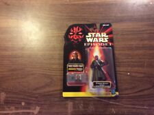 NEW! DARTH MAUL JEDI DUEL DOUBLE BLADED SABER STAR WARS EPISODE I ACTION FIGURE