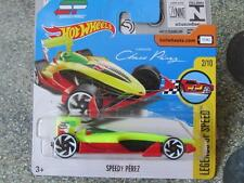 Hot Wheels 2017 #023/365 SPEEDY Sergio PEREZ HW Legends of speed New Casting