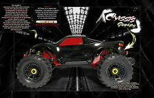 TRAXXAS MAXX 4S HOP-UP CHASSIS / WINDOW WRAP 'CARBON FIBER' DECALS GRAPHICS
