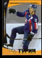 2005 Peter Bondra Turin Olympics  Card 500 Made Rare