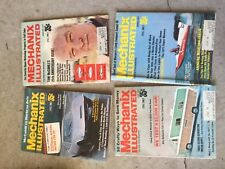 Mechanix Illustrated MAGAZINE  vintage LOT OF 4 of 1971 feb, mar, june, july