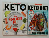 KETO DIET 2 Publications COMPLETE GUIDE No-Hunger Diet RECIPES 2020