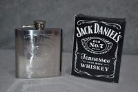 Jack Daniel's Old No.7 Hip Flask Brand New Christmas Gift Collectable 177ml 6oz